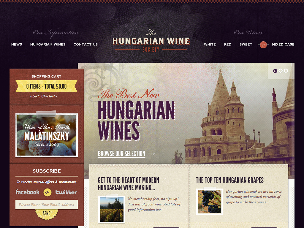 Hungarian Wine Society | Buy Hungarian Wines Online