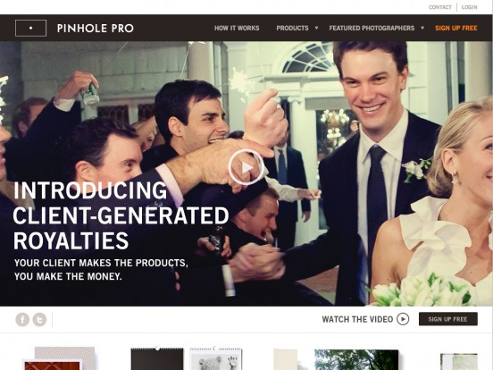 Pinhole Pro: Client Generated Royalties for Photographers