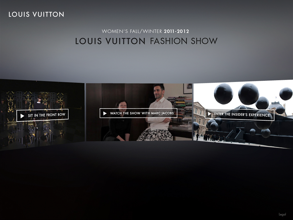 LOUIS VUITTON FASHION SHOW