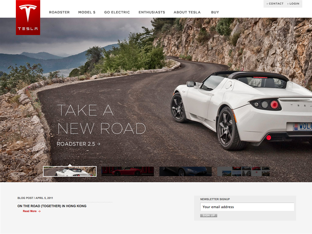 Tesla Motors | Premium Electric Vehicles