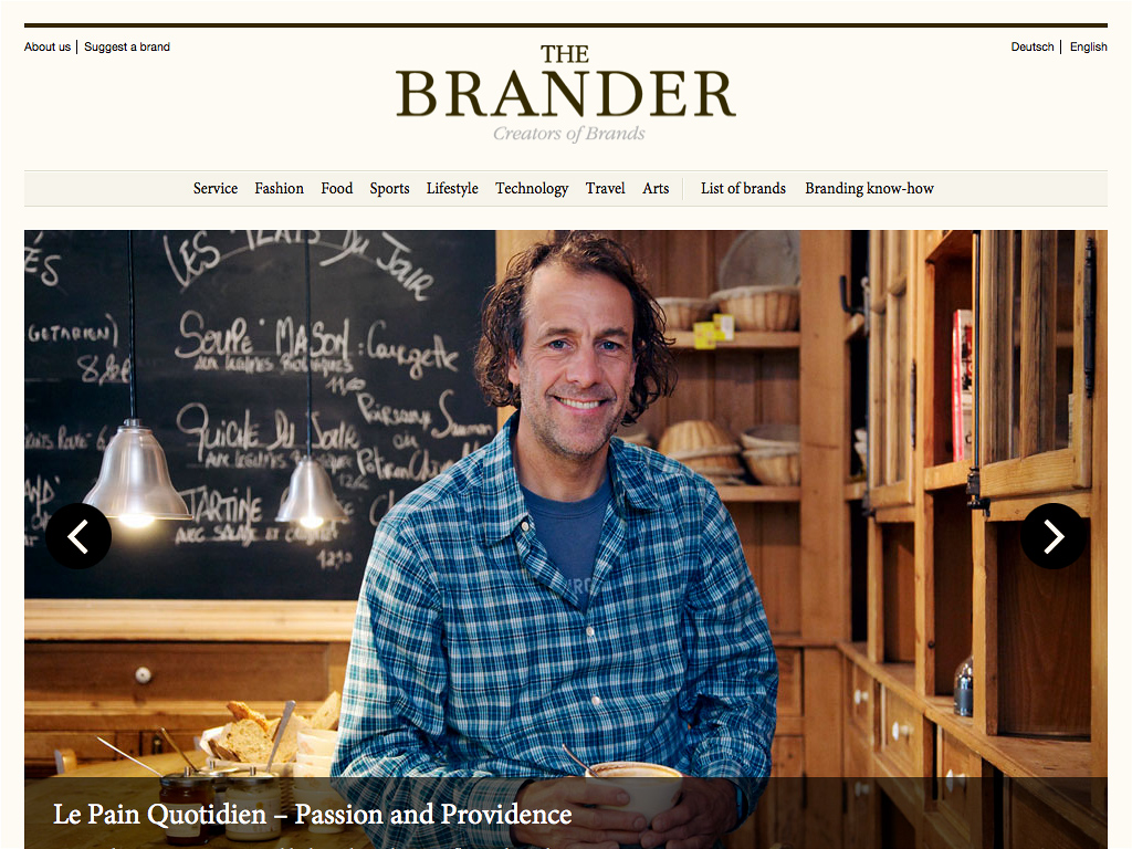 The Brander » Creators of Brands