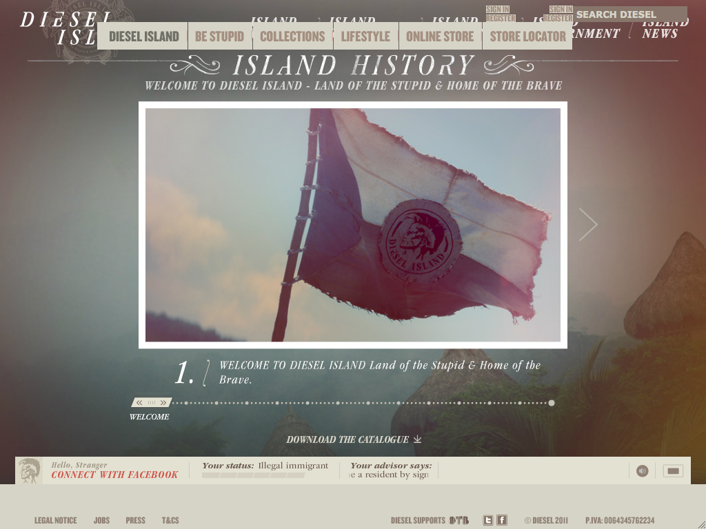 Diesel Island – Land of the Stupid & Home of the Brave