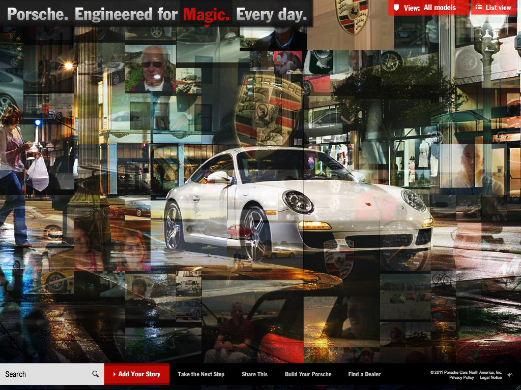 Porsche Everyday – Explore the hundreds of ways a Porsche makes every day feel nothing like the everyday.