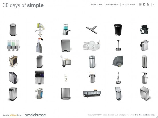 simplehuman: 30 days of simple