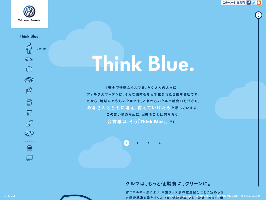 Volkswagen | Think Blue.