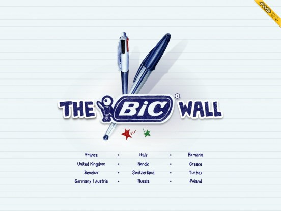 The Bic® Wall