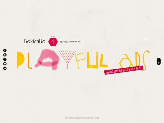 "BokicaBo nova kolekcija – ""Playful ads, hang on the good days"" – Proleće / Leto 2011"