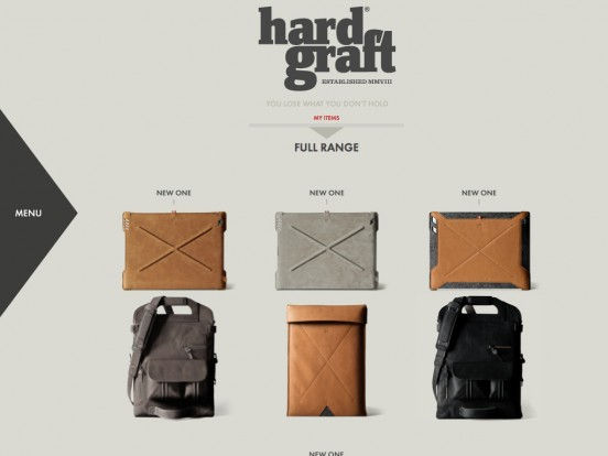 hard graft / Handmade Leather Bags, 100% Wool Felt Laptop Sleeves, iPad Cases, Phone Cases and Accessories / Welcome