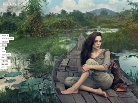 Angelina Jolie's Journey to Cambodia for Louis Vuitton