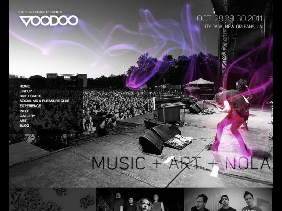VOODOO Music Experience 2011 :: Worship the Music :: October 28.29.30