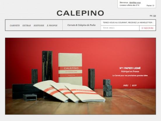 CALEPINO :: Carnet de Notes et calepin Made in France à glisser dans la poche