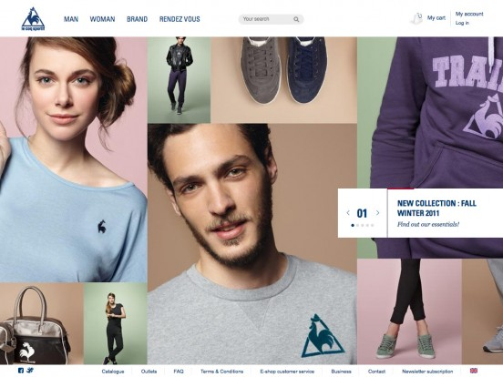 Le coq sportif, sports shoes, clothing and accessories since 1882 – lecoqsportif homepage