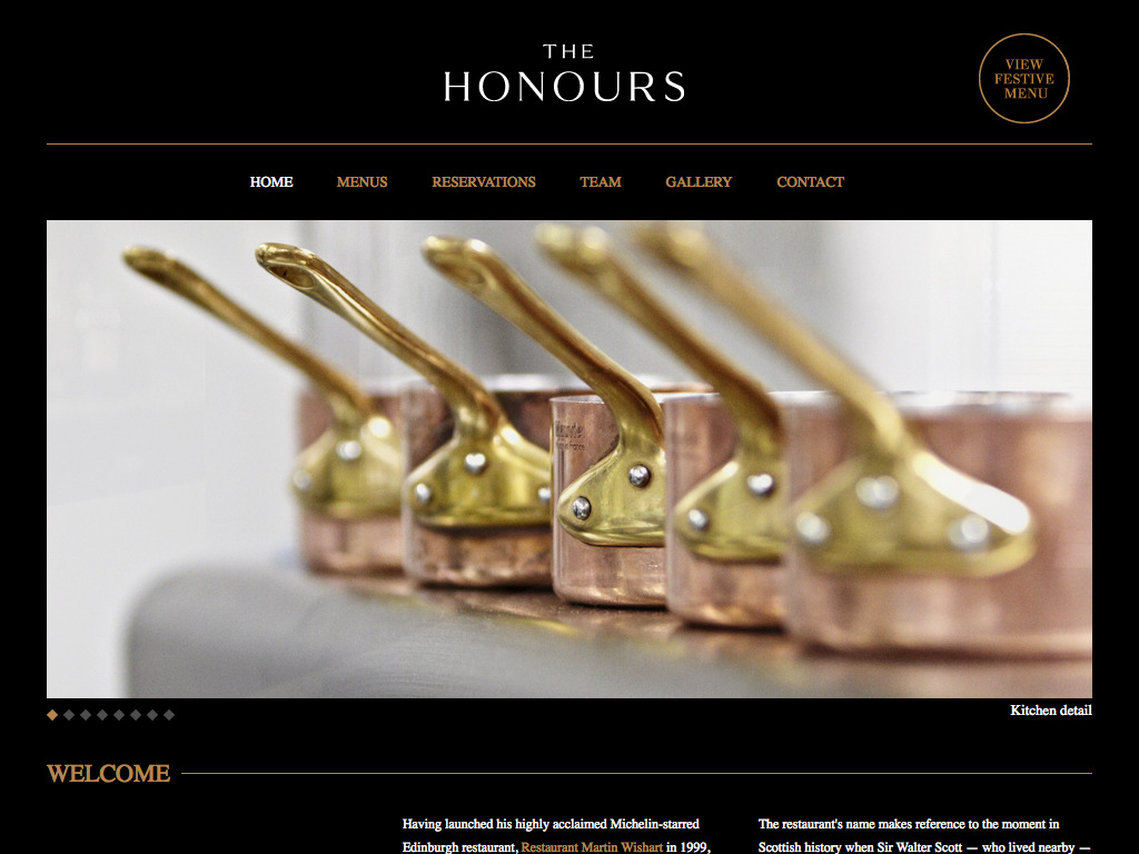 The Honours – Home