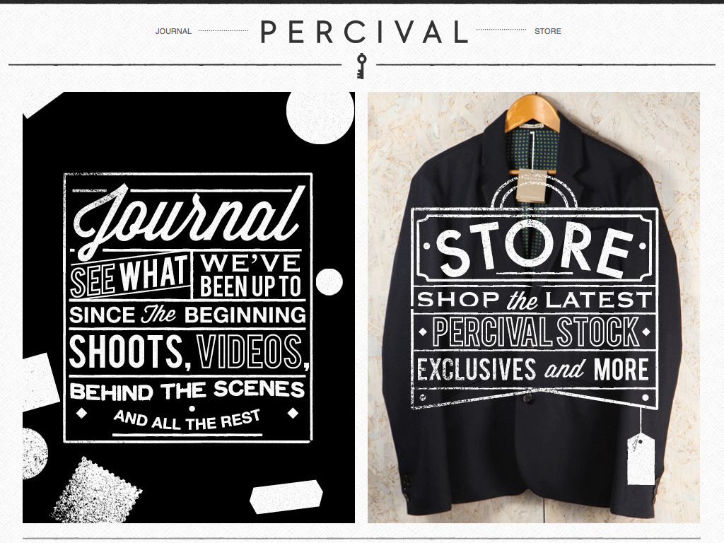 Percival Clothing | Welcome