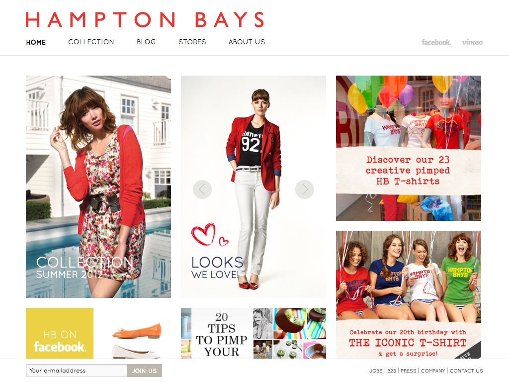 Hampton Bays | Casual fashion with a feminine touch, a way of life!