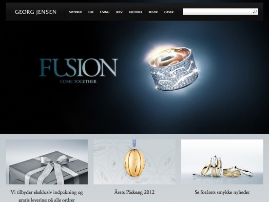 Georg Jensen (Danmark) – International luxury lifestyle – online