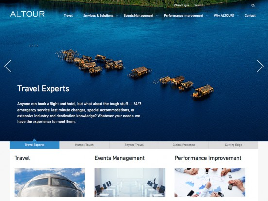ALTOUR | Business Travel Agency, Event Planning, Performance Improvement
