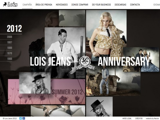 Lois Jeans 50th Anniversary | Spring Summer 2012