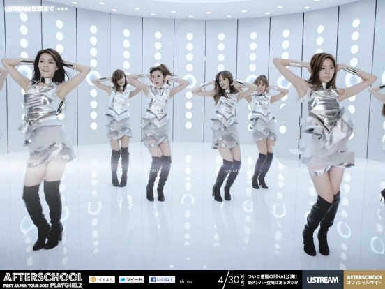 AFTERSCHOOL -PLAYGIRLZ- ツアーFINAL@大阪なんばHatch