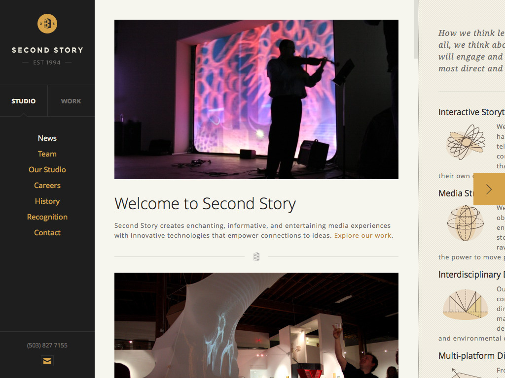 Second Story Interactive Studios | Interactive Media Design & Development
