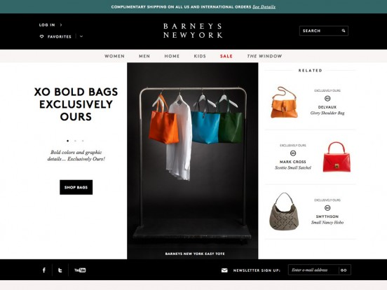 Barneys New York: Luxury Designer Handbags, Shoes and Clothing