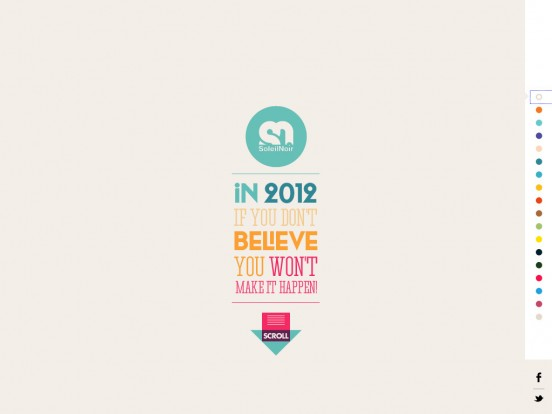 Soleil Noir 2012 | We believe in…