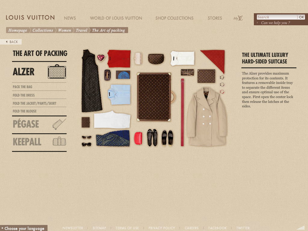 Louis Vuitton – Collections – Women – Travel – Stories – The Art of packing
