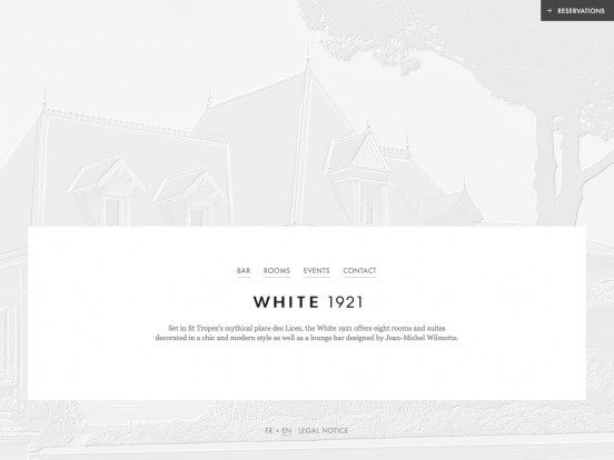 White 1921 (former Maison Blanche) │ Hotel and bar in St Tropez place des Lices