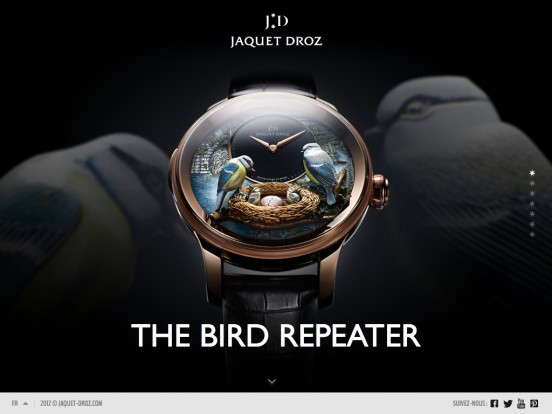 Jaquet Droz – The Bird Repeater