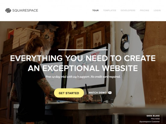 Build a Website – Squarespace 6