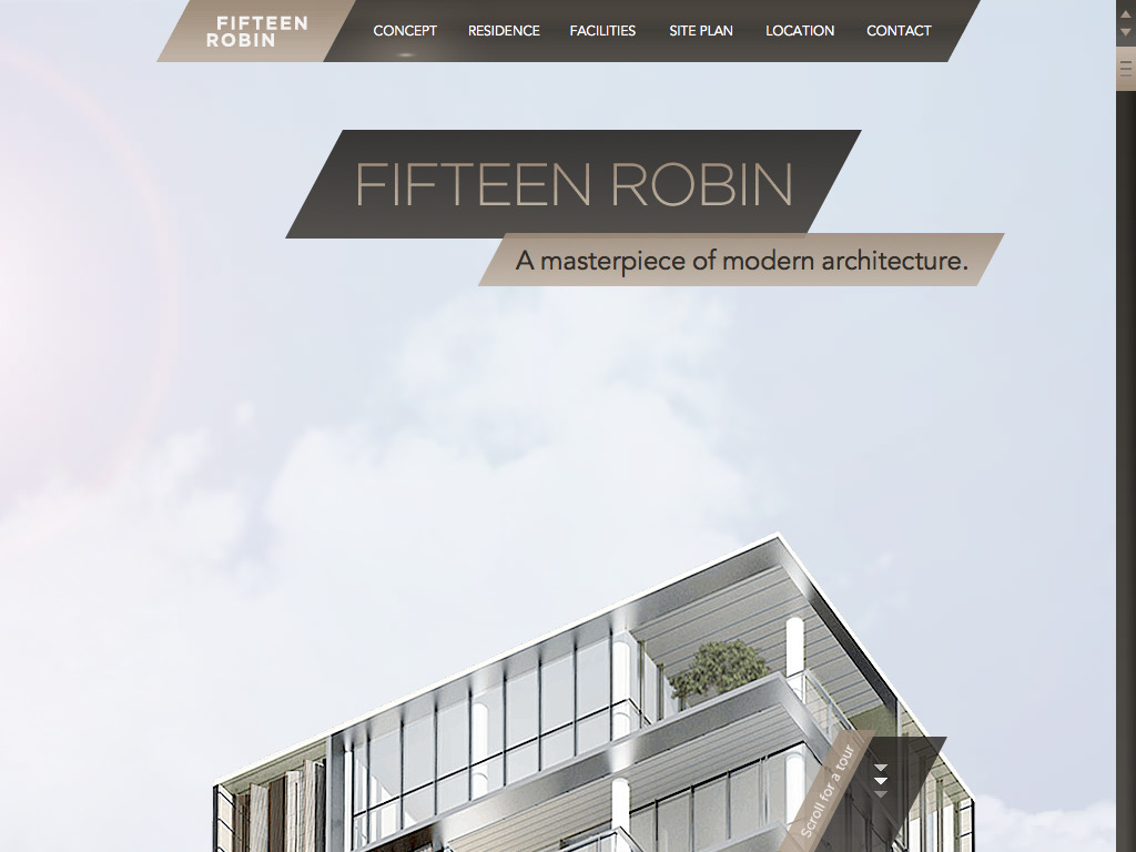 Fifteen Robin – Luxury Apartments for lease