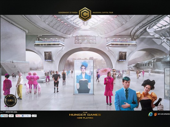 The Hunger Games – Capitol Tour