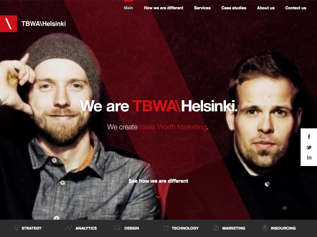 TBWA\Helsinki — Ideas Worth Marketing