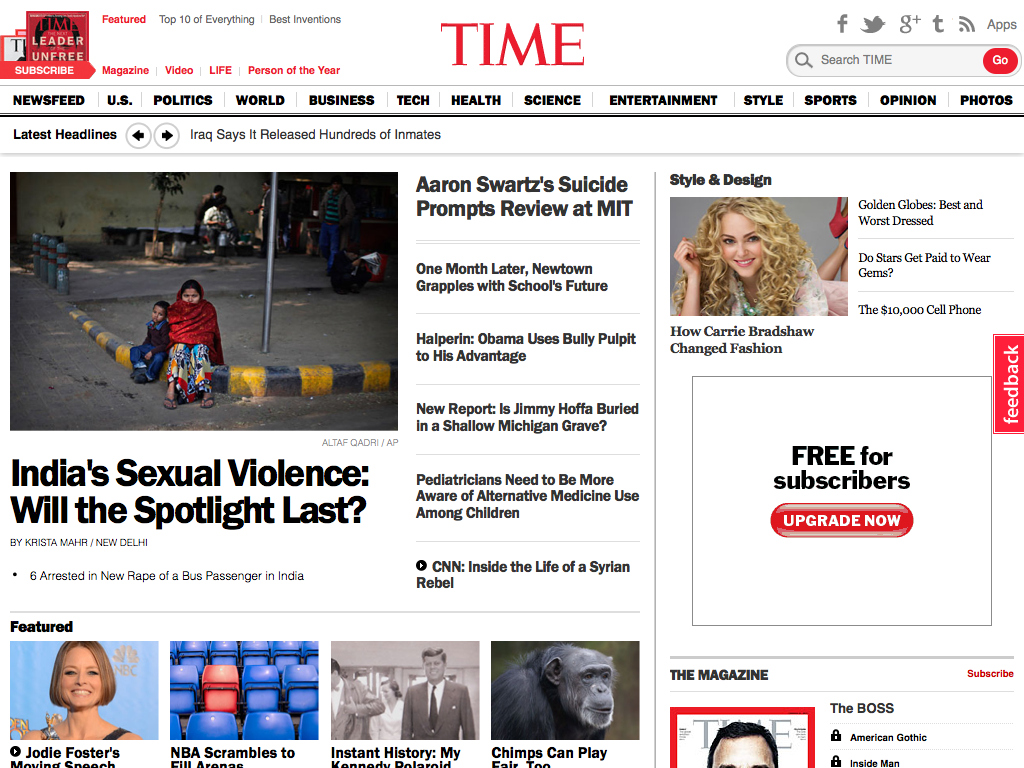 Breaking News, Analysis, Politics, Blogs, News Photos, Video, Tech Reviews – TIME.com