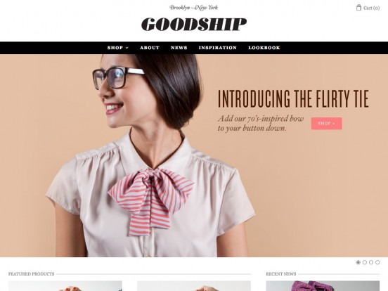 Welcome | Goodship