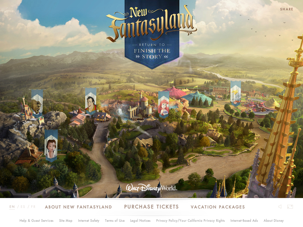 New Fantasyland | Walt Disney World Resort