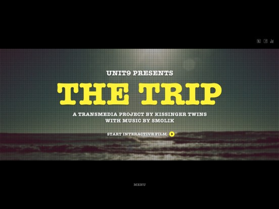 The Trip – A Transmedia Project by Kissinger Twins