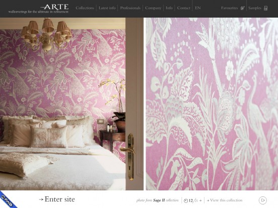 Arte, distributor of high quality and original wallpaper in Belgium and worldwide