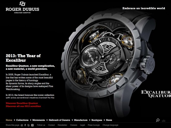 Roger Dubuis | Manufacture of Fine Watches
