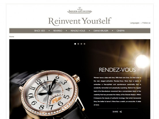 REINVENT YOURSELF –  Jaeger-LeCoultre