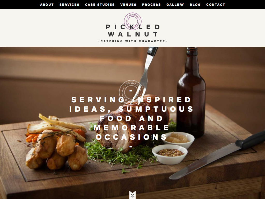 Pickled Walnut – Catering with character – About Us