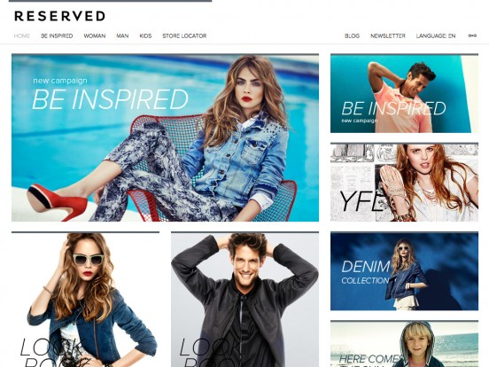 Reserved – Collection Spring Summer 2013