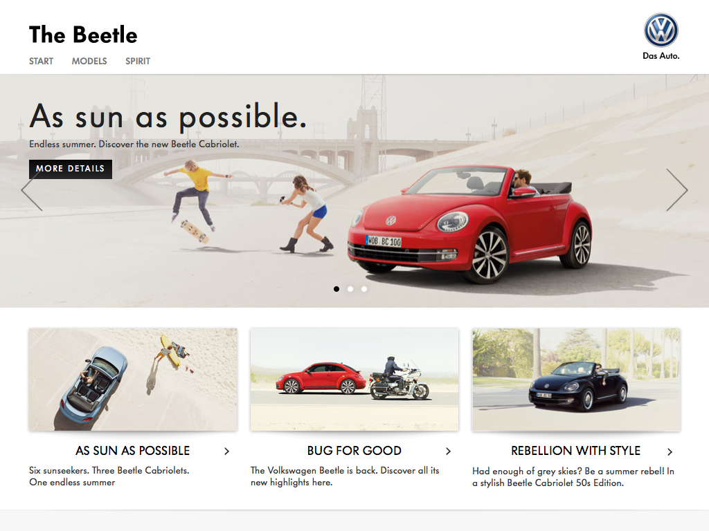 All about the Volkswagen Beetle.