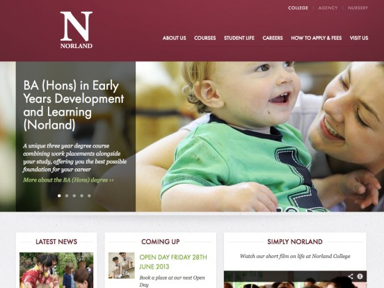 Welcome to Norland College – Early Years Training | Norland College