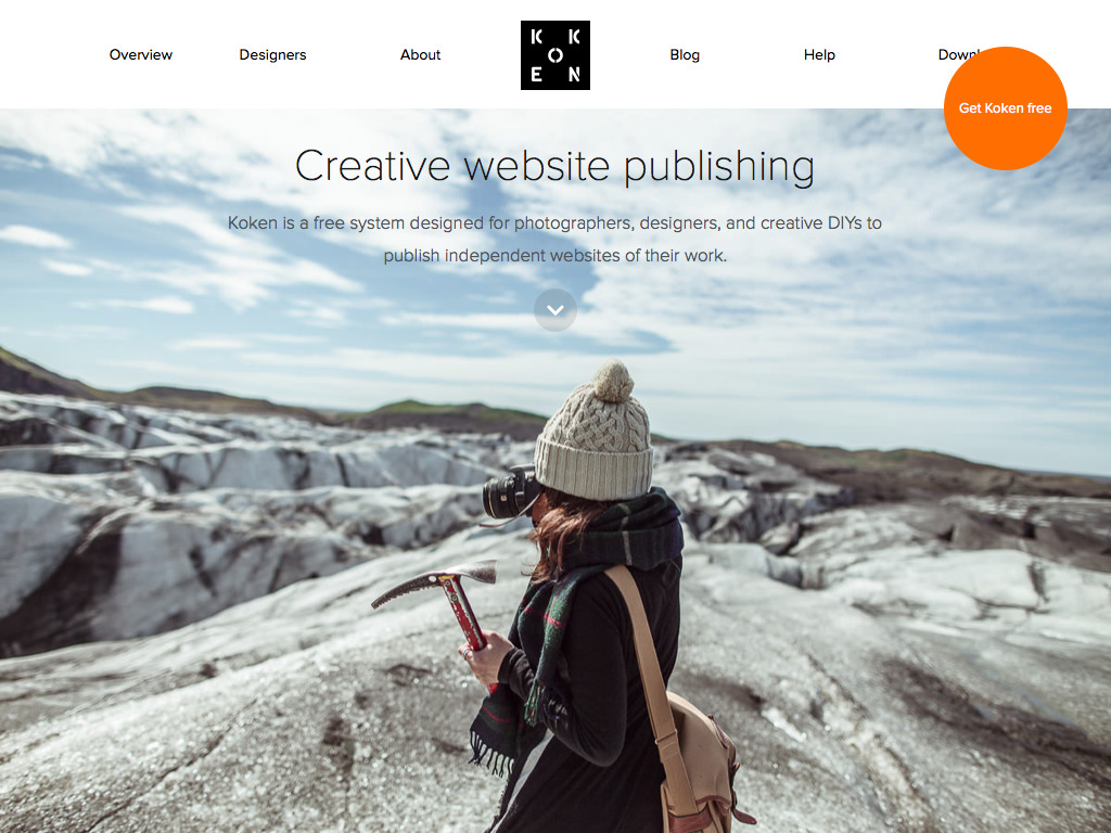 Koken – Creative website publishing