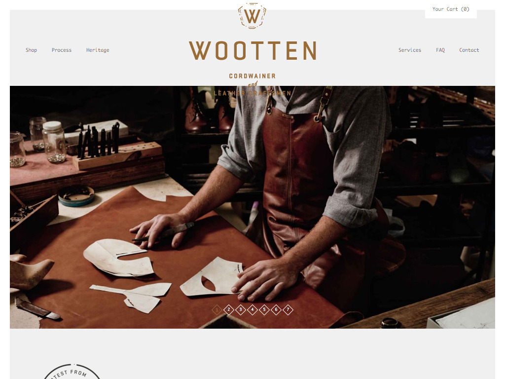 Wootten | Cordwainer and Leather Craftsmen