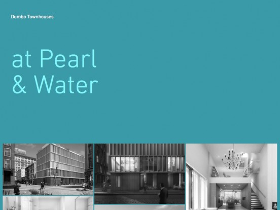 Dumbo Townhouses – Pearl & Water – Brooklyn