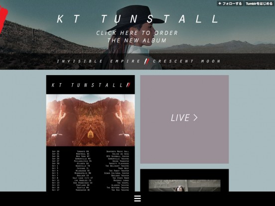 KT Tunstall – Official
