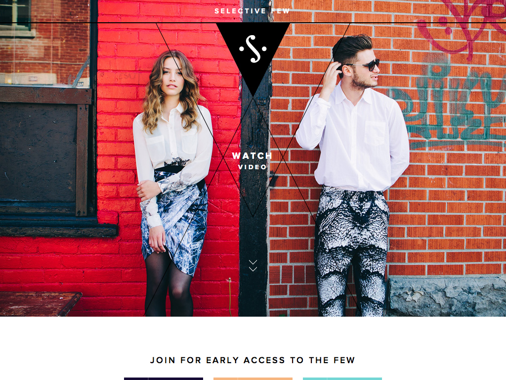 Selective Few – Rare Boutiques, Creative Buyers, Curated Selection