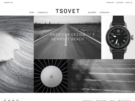 TSOVET : We're passionate about designing and building watches.